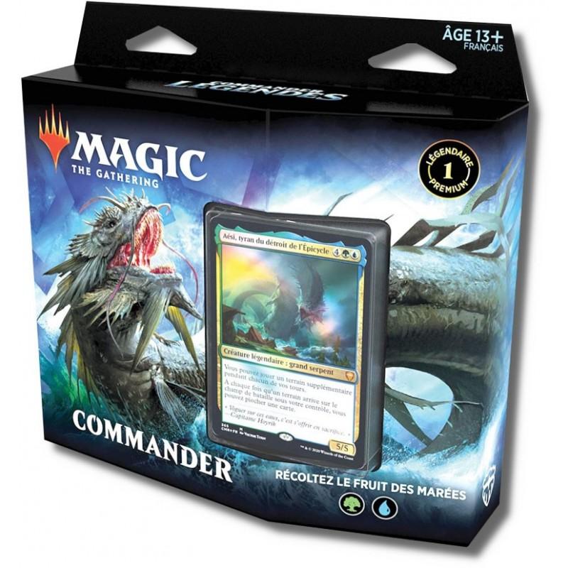 Commander Légendes deck rouge un jeu Wizards of the coast