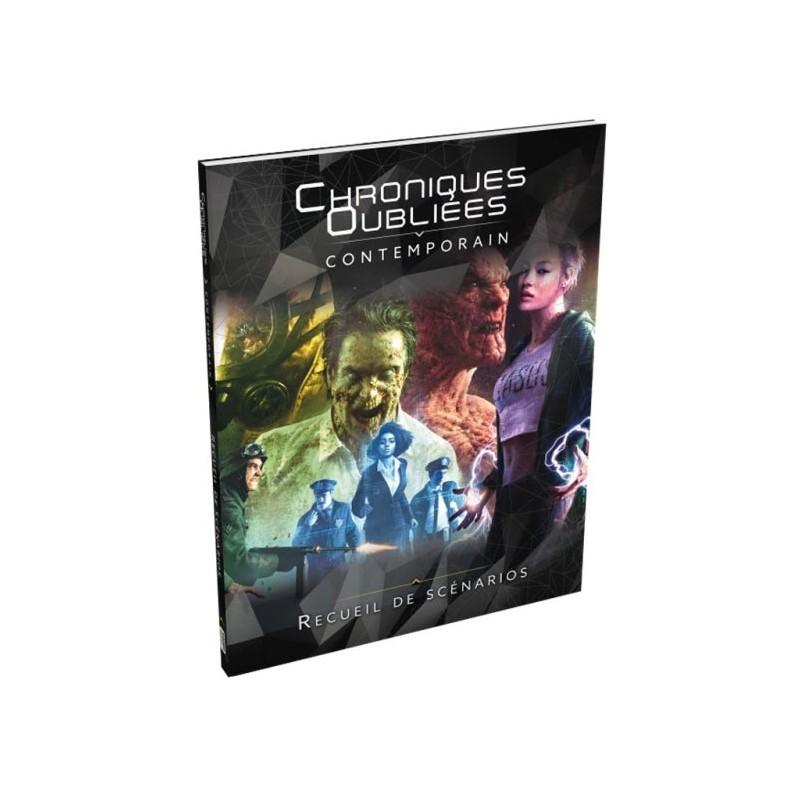 Chroniques Oubliées Contemporain - Recueil de scenarios un jeu Black Book