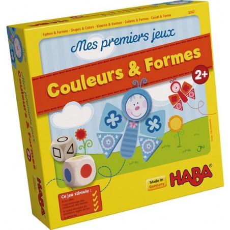 Mes premiers jeux - Couleurs & Formes un jeu Haba