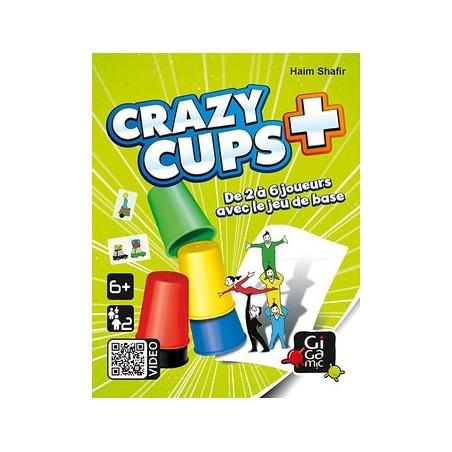 Crazy Cups + un jeu Gigamic
