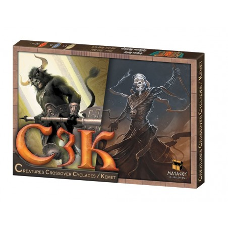 Crossover Cyclades / Kemet un jeu Matagot