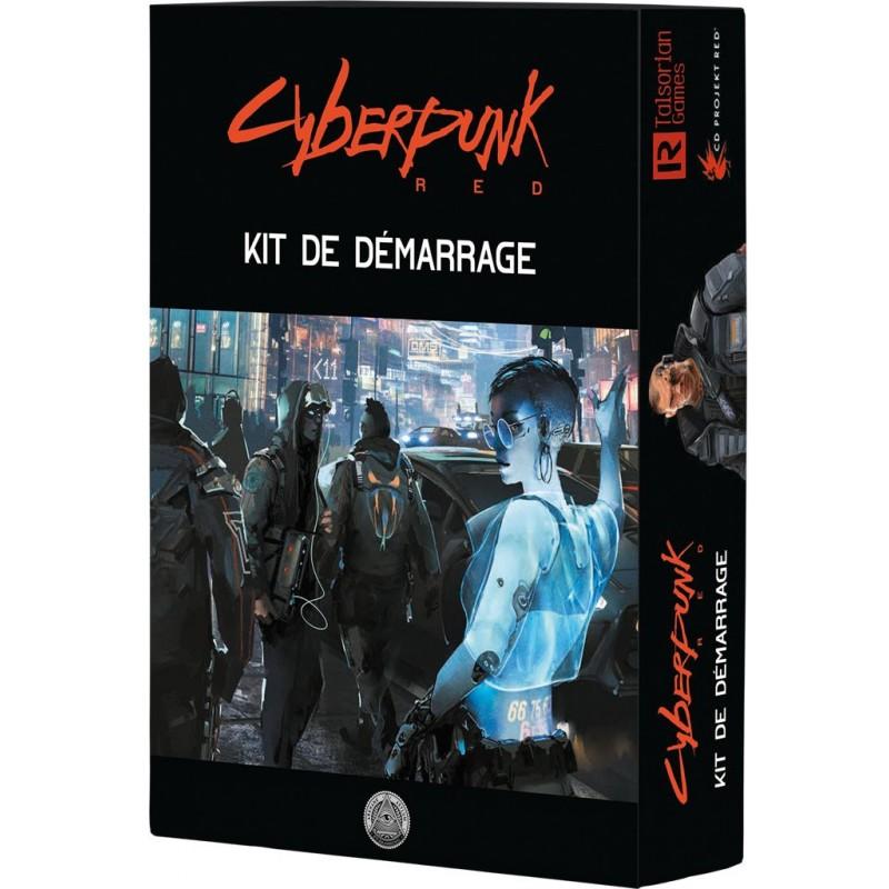 Cyberpunk Red - Kit de démarrage un jeu Black Book