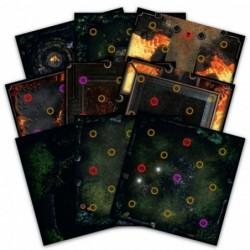 Dark Souls Darkroot Basin & Iron keep Tile Set un jeu Steamforged
