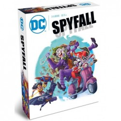Dc Comics : Spyfall un jeu Don't Panic Games