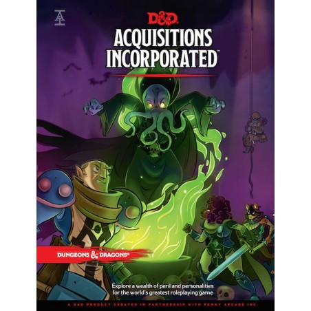 Acquisitions Incorporated un jeu Wizards of the coast