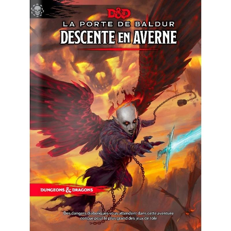 Descente en Averne un jeu Black Book