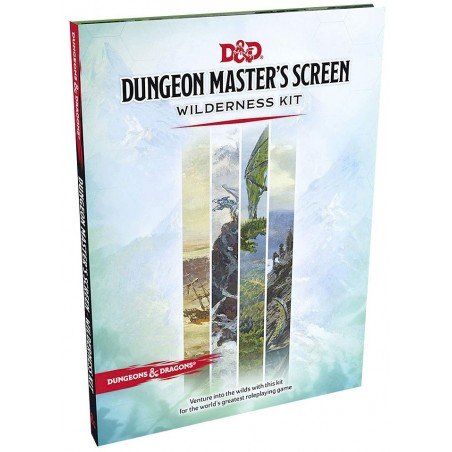 Dungeon Master's Screen Wilderness Kit un jeu Wizards of the coast