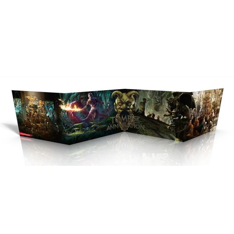 Ecran - Tomb of annihilation vf un jeu Black Book