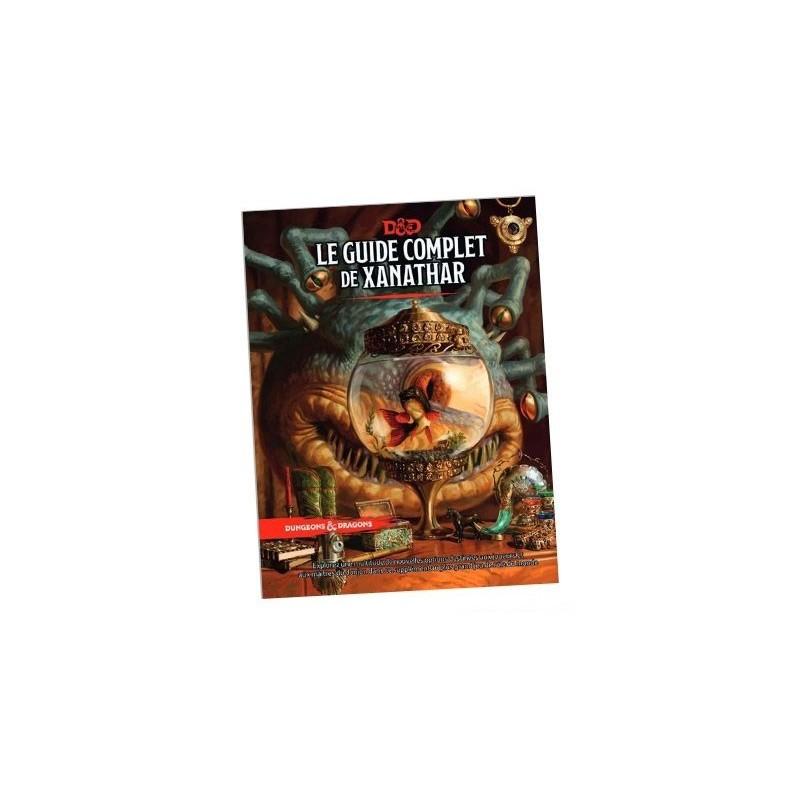 Le guide complet de Xanathar un jeu Black Book