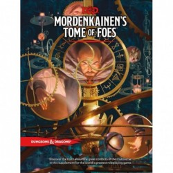 Mordenkainen's Tome of foes VO un jeu Wizards of the coast