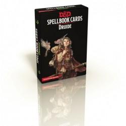 Cartes de sorts Druide un jeu Black Book