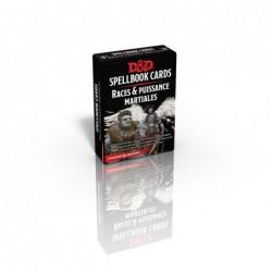 Cartes de sorts Races et Puissance Martiale un jeu Black Book