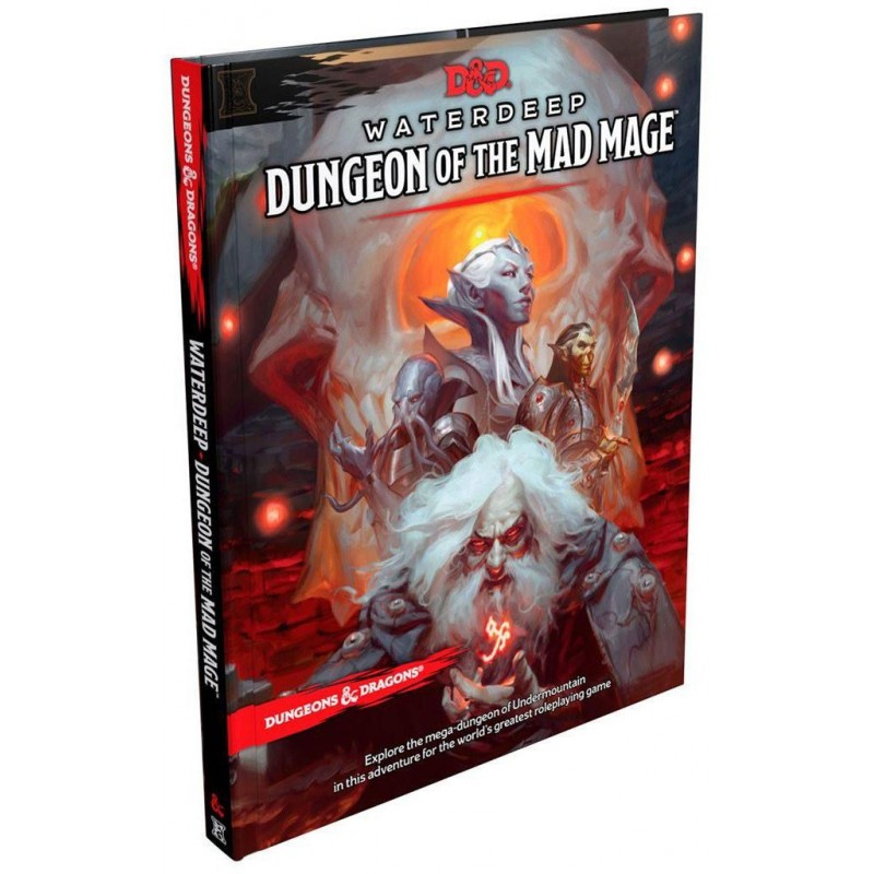 Waterdeep dungeon of the Mad Mage un jeu Wizards of the coast