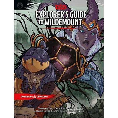 Explorer's guide Wildemount un jeu Wizards of the coast