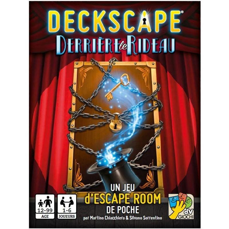 Deckscape : Derrière Le Rideau un jeu Super Meeple