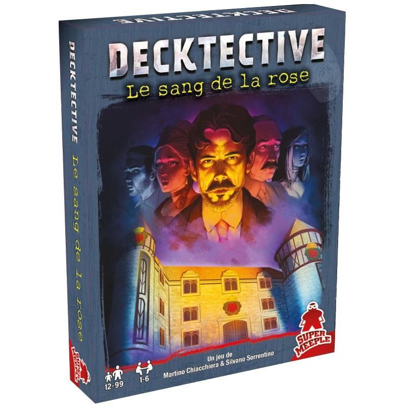 Decktective - Le sang de la rose un jeu Super Meeple