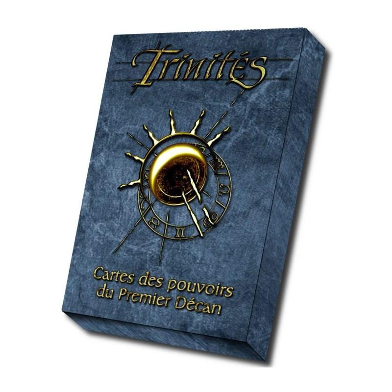 Trinités : cartes des pouvoirs du Premier Décan un jeu Les XII singes