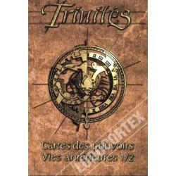 Trinités - Cartes des Pouvoirs des Vies antérieures 1/2 un jeu Les XII singes