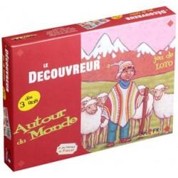 Le Découvreur - Jeu de Loto - Autour du Monde un jeu Jeux FK