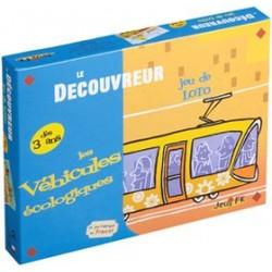 Le Découvreur - Jeu de Loto - Les Véhicules écologiques un jeu Jeux FK