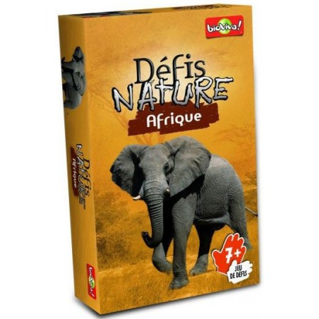 Défis Nature - Afrique un jeu Bioviva