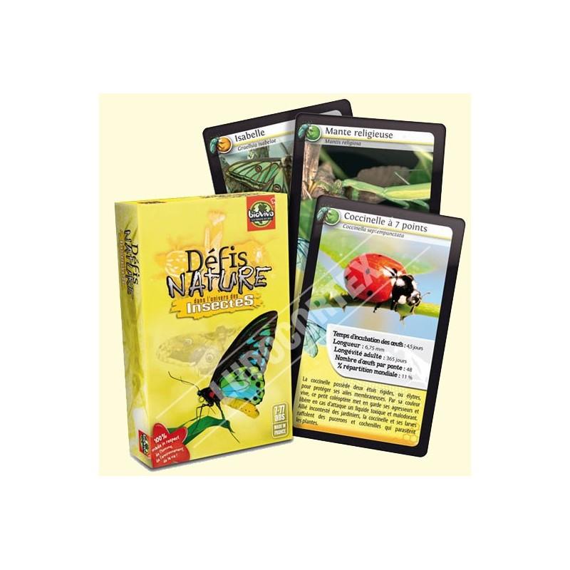 Défis Nature - Insectes un jeu Bioviva