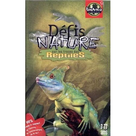 Defis Nature - Reptiles un jeu Bioviva