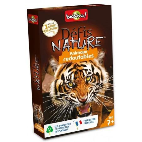 Défis Nature Animaux Redoutables un jeu Bioviva