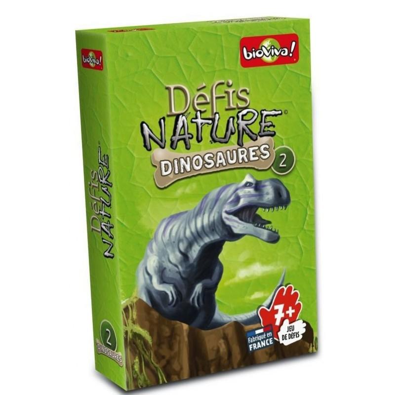 Défis Nature - Dinosaures 2 Vert un jeu Bioviva