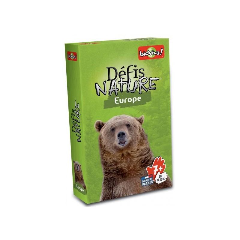 Défis nature - Europe un jeu Bioviva