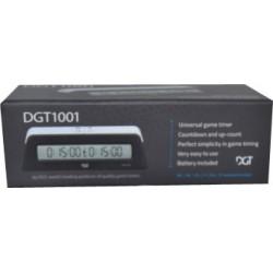 Pendule échecs DGT 1001 - noir un jeu DGT