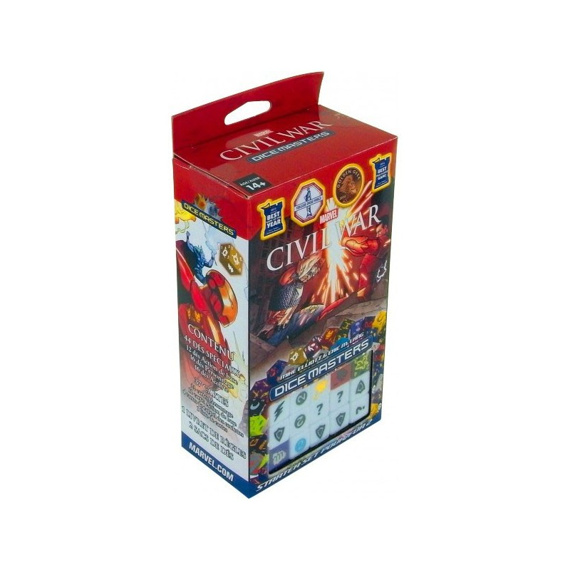 Civil War - Starter un jeu Wizkids