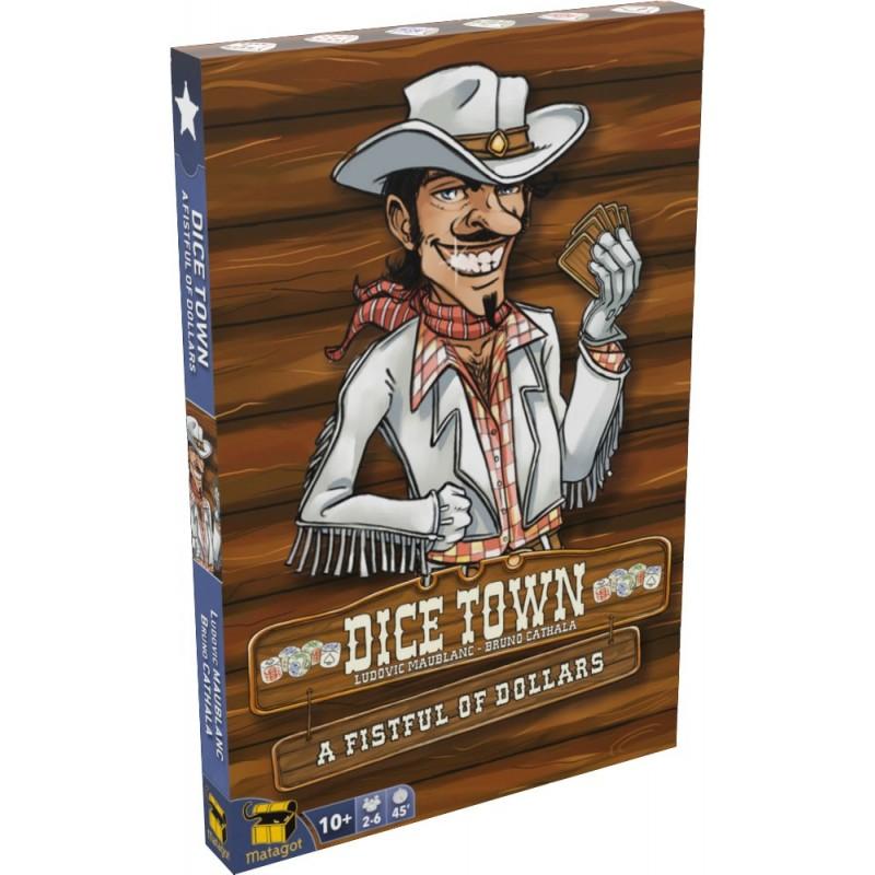 Dice Town - Pour une poignée de cartes un jeu Matagot