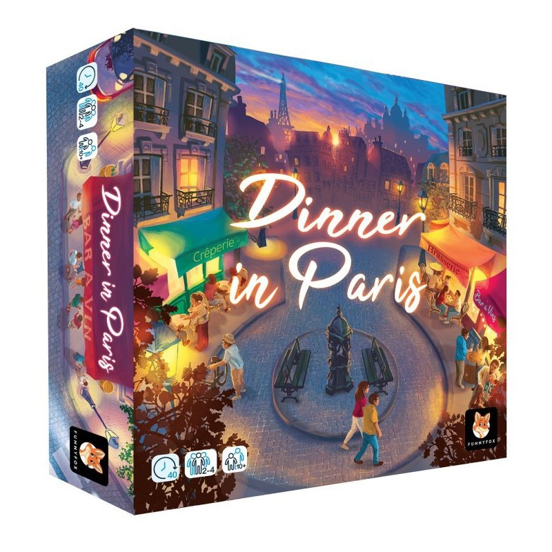 Dinner in Paris un jeu