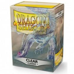 Dragonshield pochettes Clear (100) - 63x88 un jeu Dragonshield