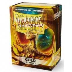 Dragonshield pochettes Gold (100) - 63x88 un jeu Dragonshield