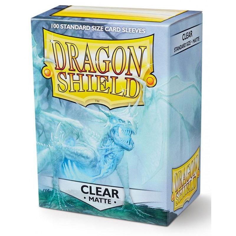 Dragonshield pochettes Clear Matte (100) - 63x88 un jeu Dragonshield