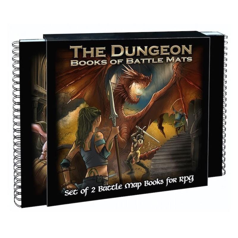 Dungeon book - Pack de 2 livres un jeu LokeBattleMats