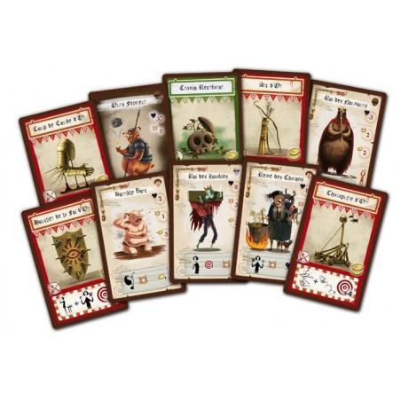 Dungeon Fighter - Bonus Pack un jeu Iello