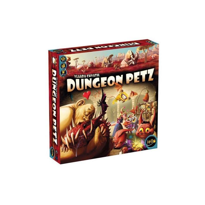 Dungeon Petz un jeu Iello