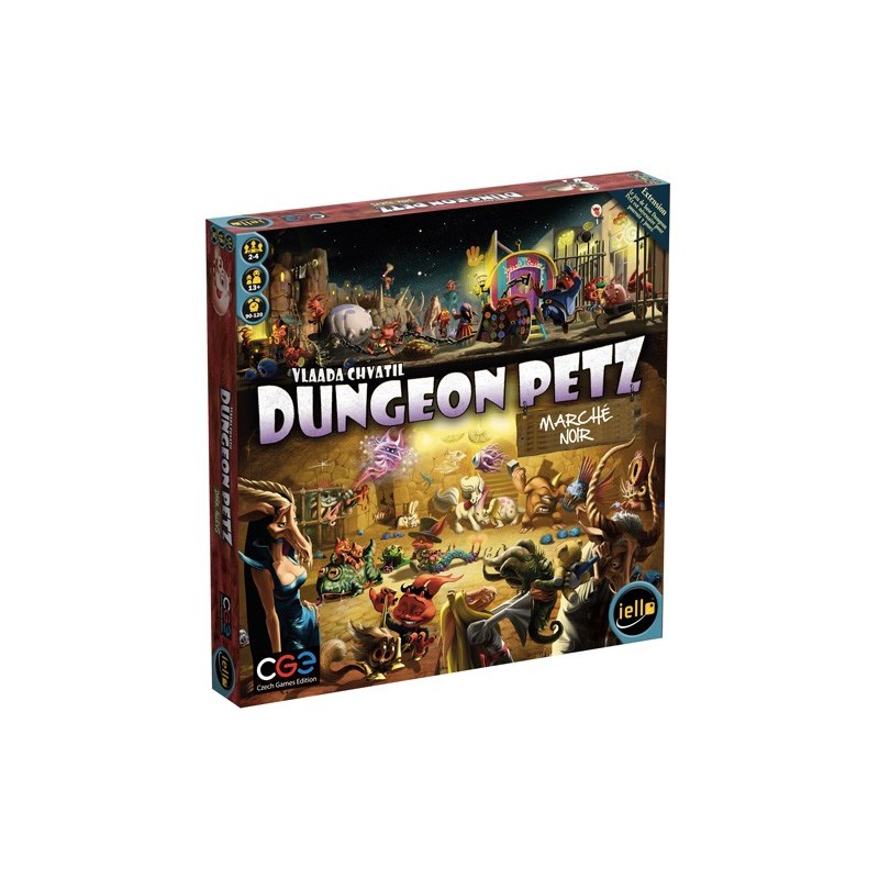 Dungeon petz - Marché noir un jeu Iello