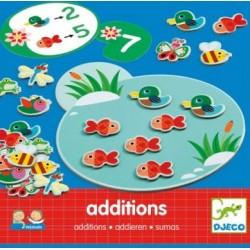 Eduludo - Additions un jeu Djeco