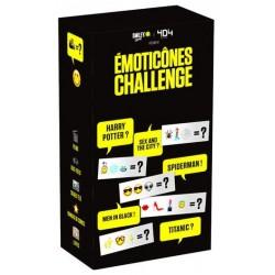 Emoticônes Challenge un jeu 404 éditions