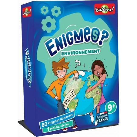 Enigmes Environnement un jeu Bioviva