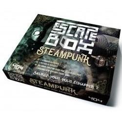 EscapeBox Steampunk un jeu 404 éditions