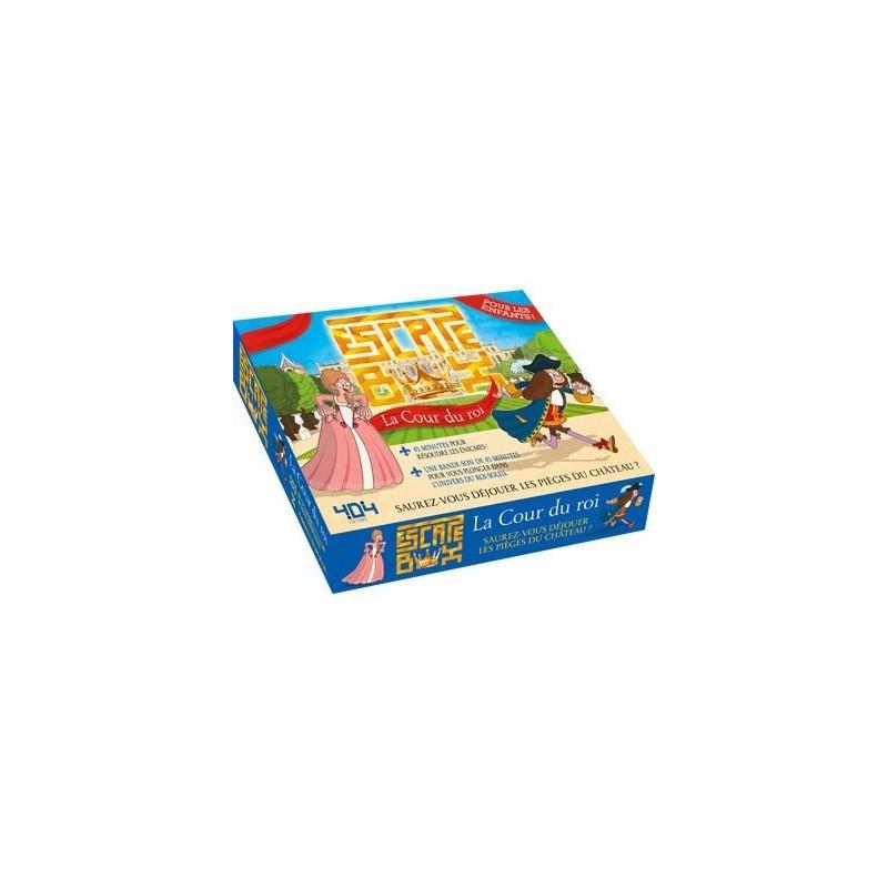 Escape Box - Cour du roi un jeu 404 éditions