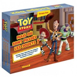 Escape box - Toy story un jeu 404 éditions