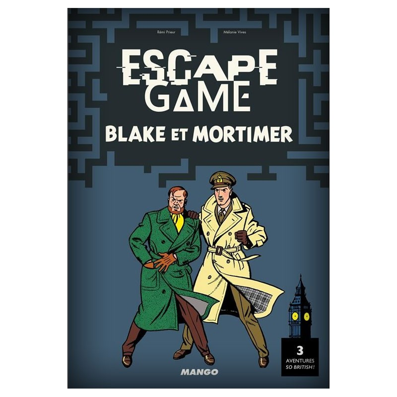 Escape Game -Blake et Mortimer un jeu Mango
