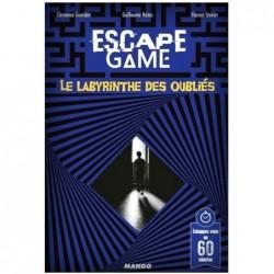 Escape Game Le labyrinthe des oubliés un jeu Mango