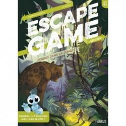 Escape Junior 8 - Perdus dans la jungle un jeu Fleurus